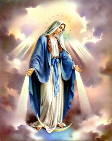 Скульптура матері божої в с довголука